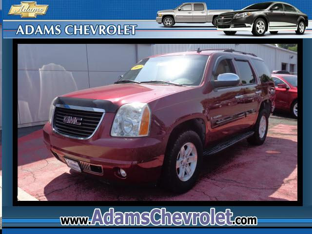 2007 GMC Yukon Adams Chevrolet where customer satisfaction is our number 1 priority is proud to offe