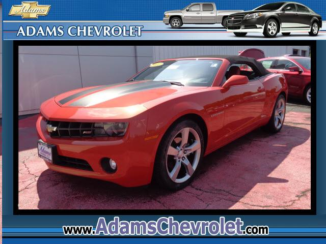 2012 Chevrolet Camaro Adams Chevrolet where customer satisfaction is our number 1 priority is proud