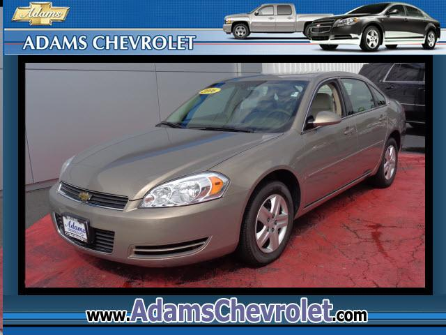 2006 Chevrolet Impala Adams Chevrolet where customer satisfaction is our number 1 priority is proud