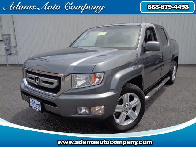 2010 Honda Ridgeline LEATHER POWER SUNROOF POWER SLIDING REAR WINDOW 4WD FOG LIGHTS ALLOYS HEATED AN