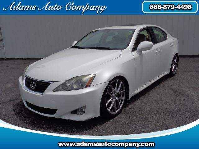 2007 Lexus IS This vehicle is another example of the Adams Auto Company commitment to stock vehicles
