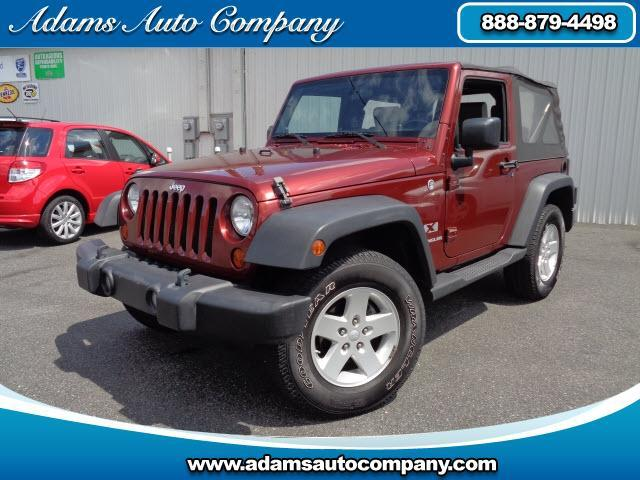 2008 Jeep Wrangler This vehicle is another example of the Adams Auto Company commitment to stock veh