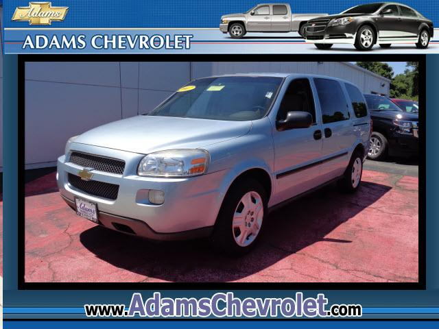 2007 Chevrolet Uplander Adams Chevrolet where customer satisfaction is our number 1 priority is prou