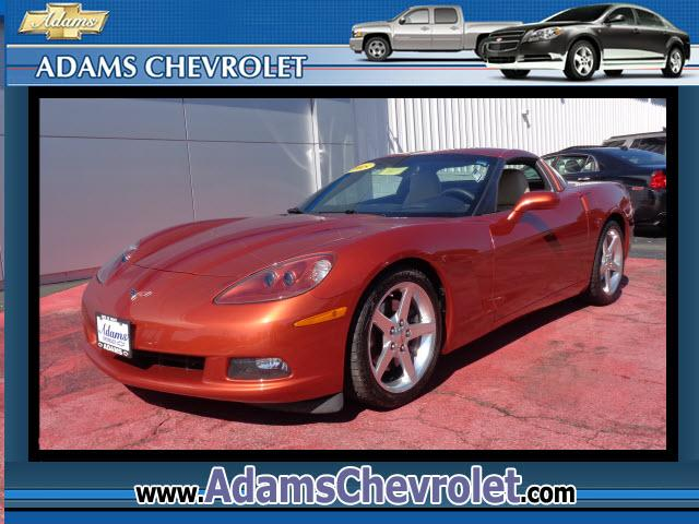 2005 Chevrolet Corvette adams Chevrolet where customer satisfaction is our number 1 priority is prou