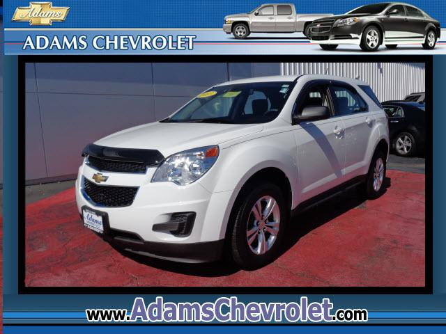 2013 Chevrolet Equinox Adams Chevrolet where customer satisfaction is our number 1 priority is proud