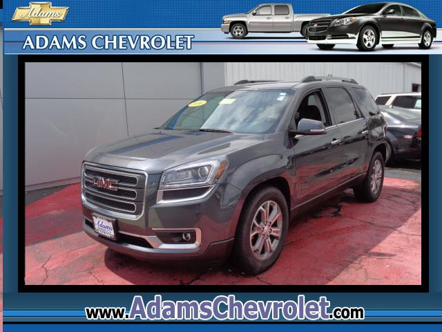 2014 GMC Acadia Adams Chevrolet where customer satisfaction is our number 1 priority is proud to off