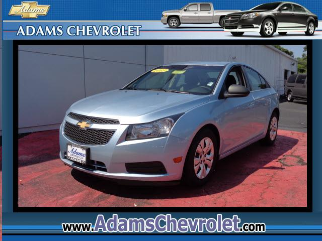 2012 Chevrolet Cruze adams Chevrolet where customer satisfaction is proud to offer this nearly Cruze