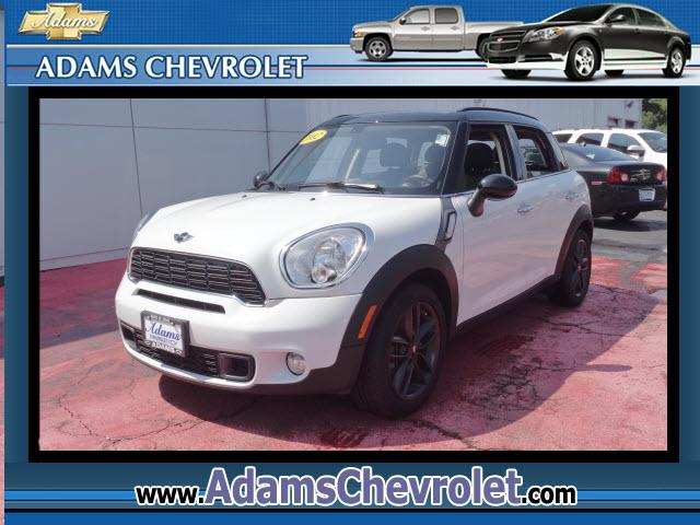 2012 MINI Countryman Adams Chevrolet where customer satisfaction is our number 1