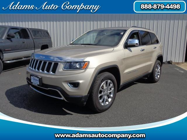 2014 Jeep Grand Cherokee This vehicle is another example of the Adams Auto Company commitment to sto