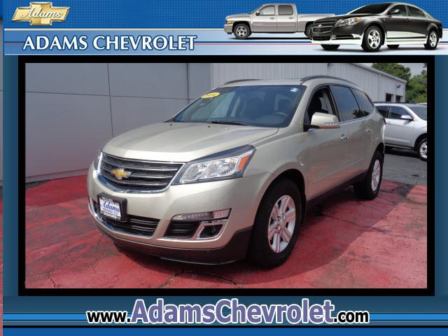 2014 Chevrolet Traverse Call and ask for Shawn Ryan today and see why Adams Chevrolet in Havre de Gr