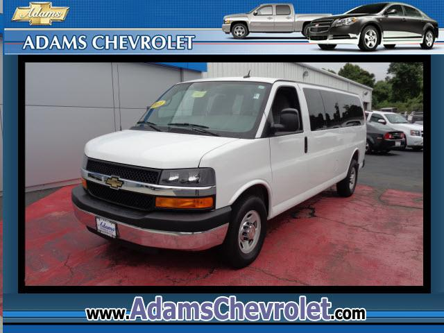 2013 Chevrolet Express Clean Auto Check and 15 PASSENGER Express Van G3500 LT Extended Passenger GM