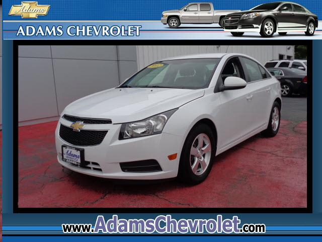 2012 Chevrolet Cruze Adams Chevrolet where customer satisfaction is our number 1 priority is proud t