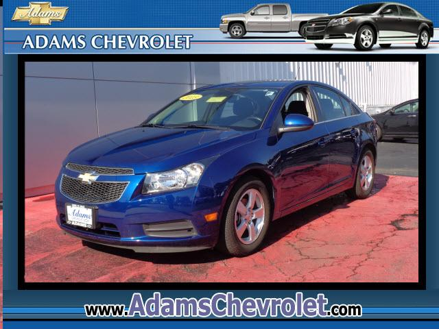 2013 Chevrolet Cruze This vehicle is another example of the Adams Auto Company commitment to stock v