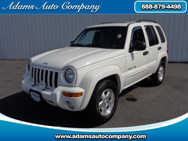 2003 Jeep Liberty This vehicle is another example of the Adams Auto Company commitment to stock vehi