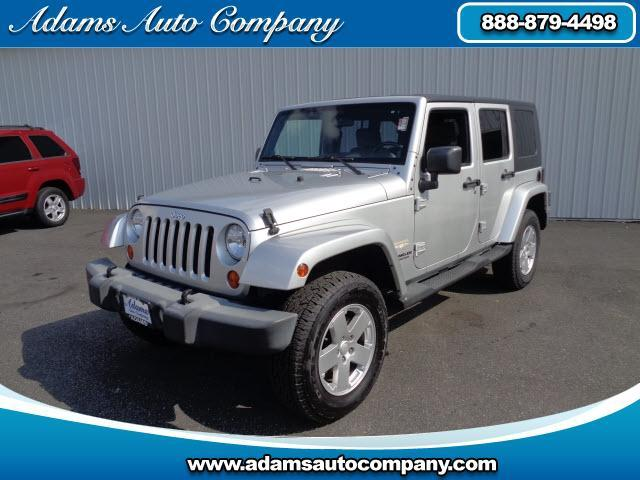 2007 Jeep Wrangler This vehicle is another example of the Adams Auto Company commitment to stock veh