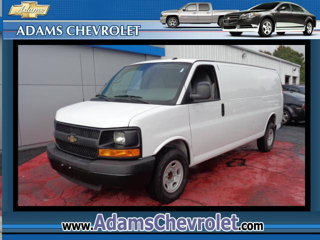 2014 Chevrolet Express Cargo Adams Chevrolet where customer satisfaction is our number 1 priority is