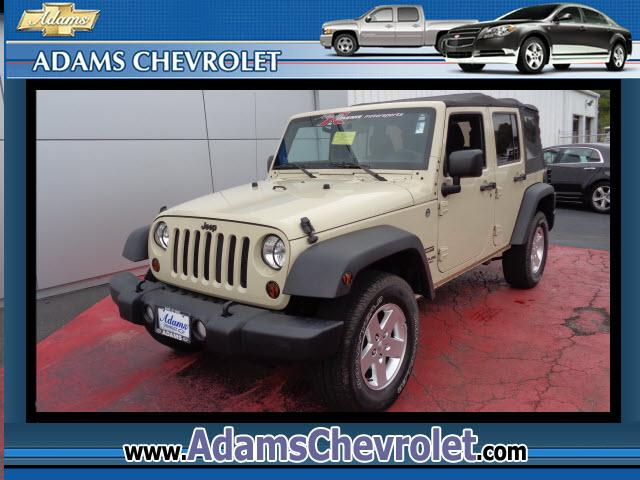 2012 Jeep Wrangler Adams Chevrolet where customer satisfaction is our number 1 priority is proud to