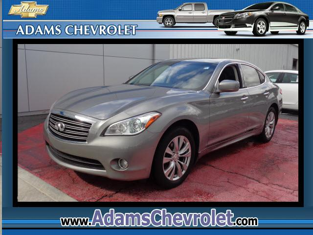 2012 Infiniti M Adams Chevrolet where customer satisfaction is our number 1 priority is proud to off