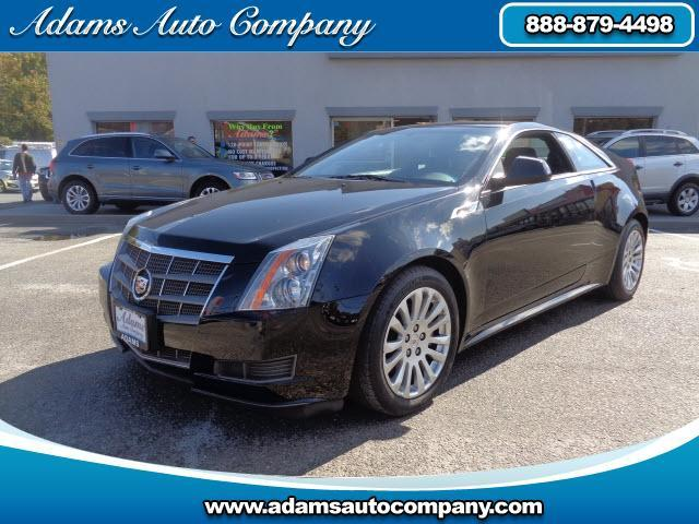 2011 Cadillac CTS ONE OWNER 2011 CADILLAC CTS PERFORMANCE COUPE CLEAN HISTORY ALL POWER