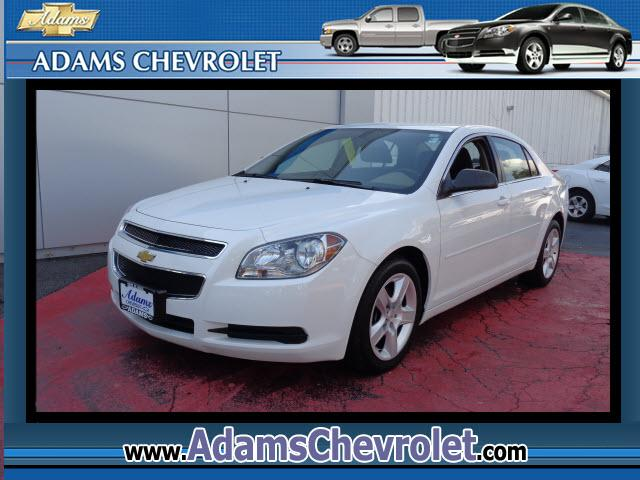 2012 Chevrolet Malibu Classy White GM Certified      I knew that would get your attention No