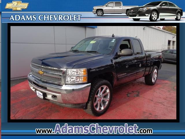 2012 Chevrolet Silverado 1500 GM Certified 6-Speed Automatic Electronic with Overdrive 4WD Low miles