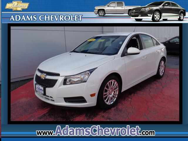 2011 Chevrolet Cruze Cruze ECO GM Certified and ECOTEC 14L I4 DOHC VVT Turbocharged Reduced pricin