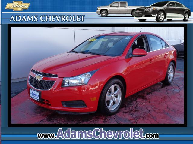 2014 Chevrolet Cruze Turbocharged Red and Ready Tired of the same tiresome drive Well change up t