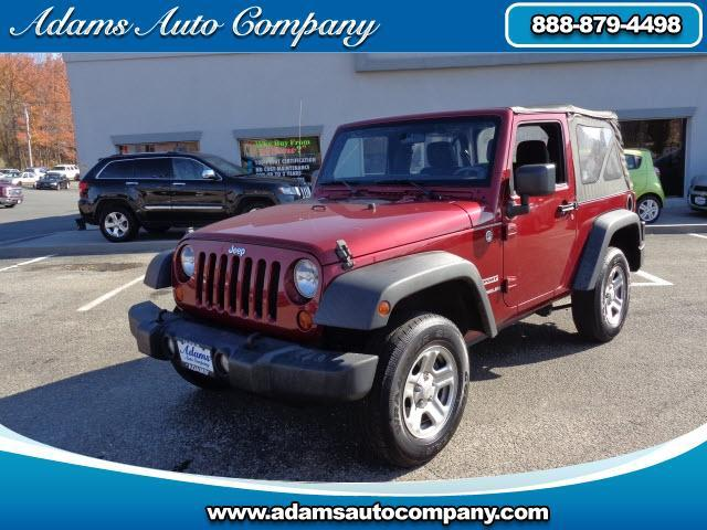 2012 Jeep Wrangler This vehicle is another example of the Adams Auto Company commitment to stock veh