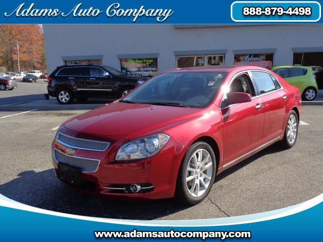 2012 Chevrolet Malibu This vehicle is another example of the Adams Auto Company commitment to stock