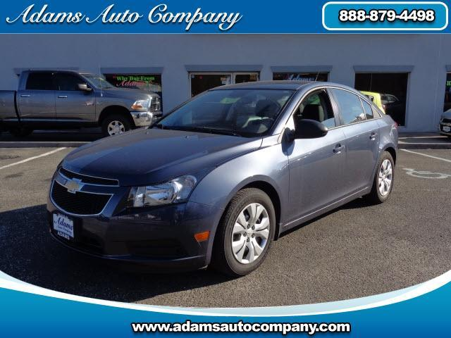 2014 Chevrolet Cruze This vehicle is another example of the Adams Auto Company commitment to stock v