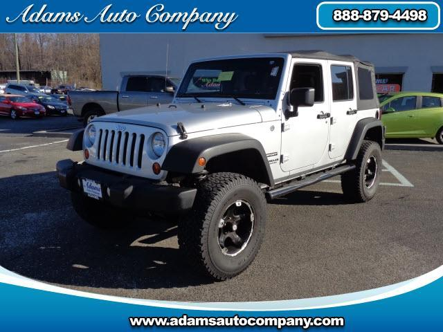 2011 Jeep Wrangler This vehicle is another example of the Adams Auto Company commitment to stock veh