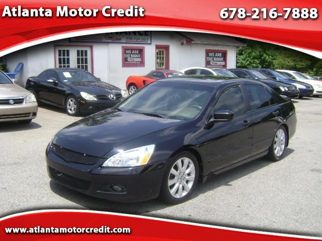Used 2007 honda accord ex l for sale in atlanta ga 30324 for Honda dealership atlanta ga