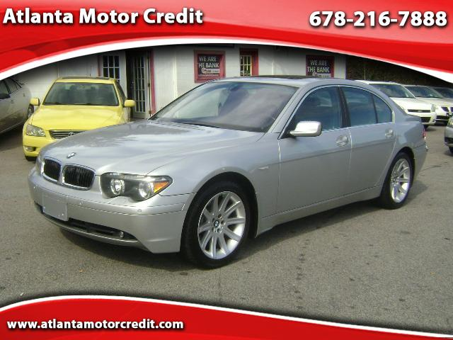 Used 2003 Bmw 745li 745i For Sale In Atlanta Ga 30324