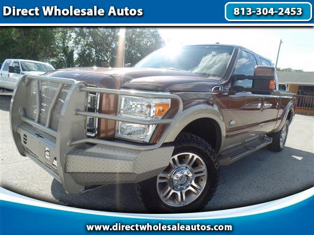 2011 Ford F-250 SD XLT Crew Cab Long Bed
