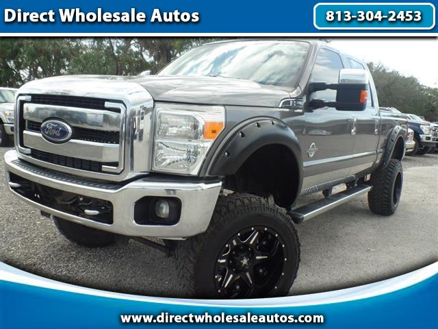 2013 Ford F-250 SD XLT 4X4 LIFTED  DIESEL LNG BD