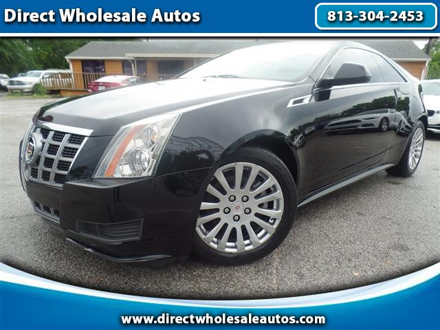 2012 Cadillac CTS Base Coupe