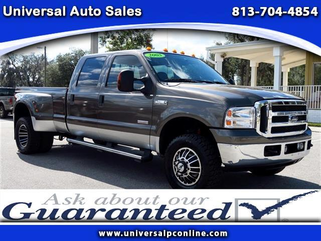 used 2005 ford f 350 sd lariat crew cab 4wd drw for sale in plant city fl 33567 universal auto sales. Black Bedroom Furniture Sets. Home Design Ideas