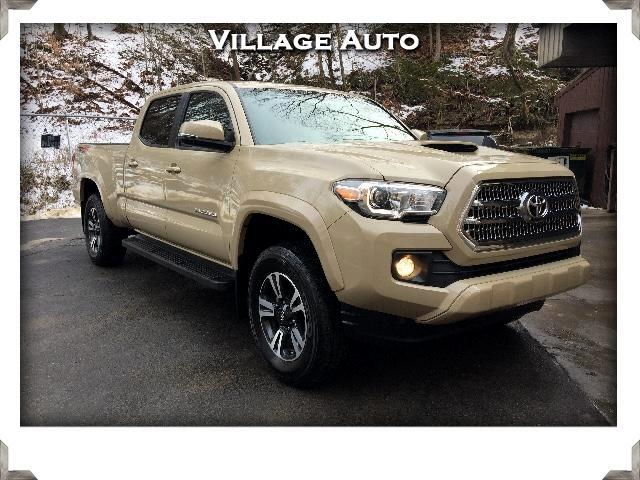 2016 Toyota Tacoma SR5 Double Cab Long Bed Trd Sport 4WD