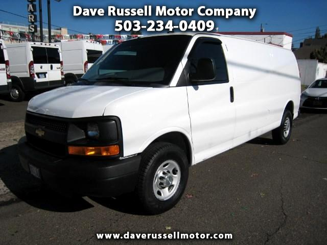 2014 Chevrolet Express G2500 Extended Cargo Van 155-in. WB