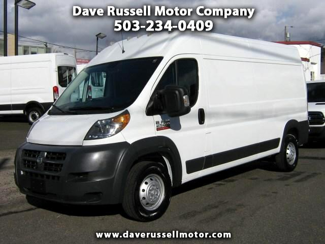 2016 RAM Promaster 2500 High Roof Extended Cargo Van 159-in. WB