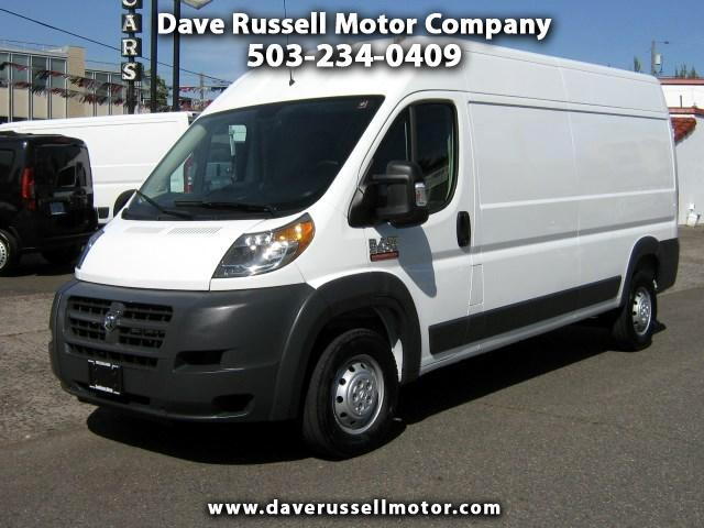 2017 RAM Promaster 2500 High Roof Tradesman Cargo Van 159-in. WB