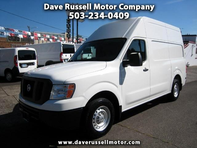2016 Nissan NV Cargo 2500 HD S High Roof Extended Cargo Van