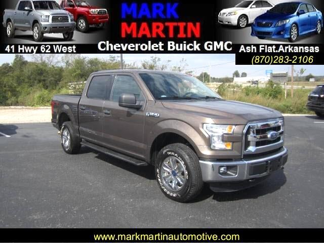 2015 Ford F-150 XLT SuperCrew 6.5-ft. Bed 4WD