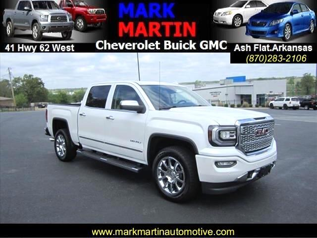 2017 GMC Sierra 1500 Denali Crew Cab Long Box 4WD