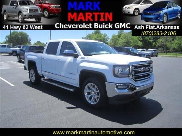 2017 GMC Sierra 1500 SLT Crew Cab Long Box 4WD