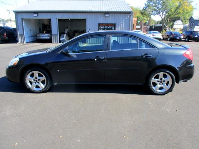 2008 Pontiac G6 Sedan