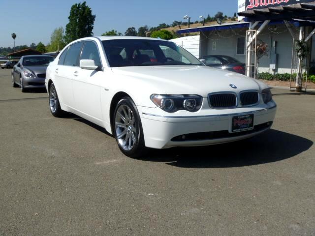 2004 BMW 7-Series Note-Extended service Plan And Finance Available Please bring this ad with you to