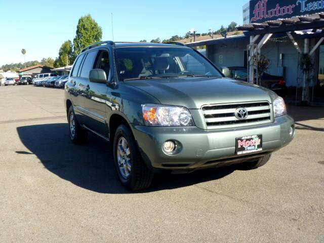 2005 Toyota Highlander Note-Extended service Plan And Finance Available Please bring this ad with y