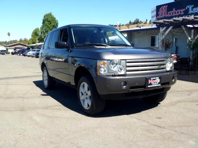 2005 Land Rover Range Rover Note-Extended service Plan And Finance Available Please bring this ad w