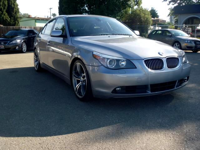 2007 BMW 5-Series Note-Extended service Plan And Finance Available Please bring this ad with you to